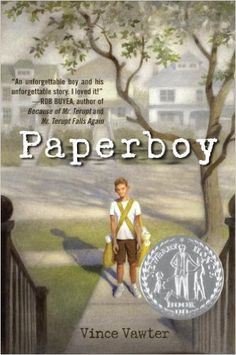 Paperboy by Vince Vawter Newbery Award Honor Book~ Newbery Award, Newbery Medal, Great Books, New Books, Books To Read, Middle School Books, Interview, Award Winning Books, Mentor Texts