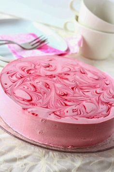 Cute Cakes, Yummy Cakes, Baking Recipes, Cake Recipes, Pink Desserts, My Best Recipe, Pastry Cake, Sweet And Salty, Something Sweet