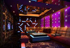 Ceiling design for ktv