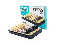 AOQING Chess Set 2 in 1 Magnetic Multipurpose Functional Recycle Material Chess Board Game *** To view further for this item, visit the image link.