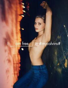 Fashion Copious - Calvin Klein #MyCalvins Collection SS 2016 Campaign by Tyrone Lebon (Women)