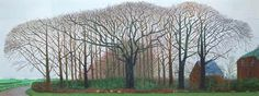 ... Sunday Post , Visual beautiful trees , david hockney Leave a comment