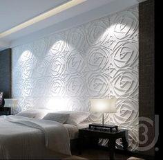 Panneaux Muraux 3D Pivoines - : Doncarli - Décoration.fr,Panneau 3D,panneau design,revetement 3D