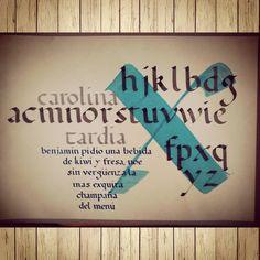 Al fin!! #fadu #calligraphy #quedóbonito #gaitto