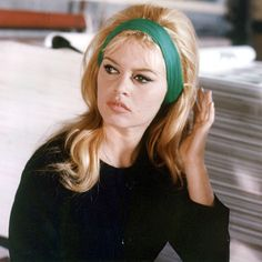 Brigitte Bardot is a timeless example of how to rock a $1 cotton headband like a '60s bombshell. Getty Images  - HarpersBAZAAR.com