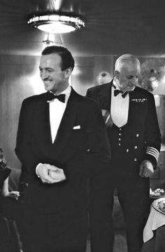 David Niven at a cocktail party on board the Queen Elizabeth