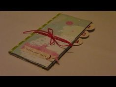 Tutorial de Scrapbooking: Mini album fácil