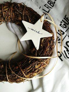 Personalized Ceramic Christmas Stars Pre by marleyandlockyer