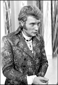 French Yé-Yé and Rock icon Johnny Hallyday was born on this day in 1943
