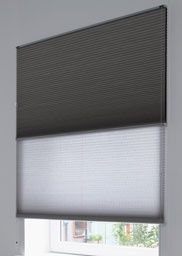 Luxaflex® Duette® Shades are soft, durable and designed to cover most window shapes. Find out more about Luxaflex® Duette® online. House Windows, Blinds For Windows, Curtains With Blinds, Small Space Interior Design, Interior Design Living Room, Day Night Blinds, Modern Window Coverings, Privacy Walls, Window Shutters