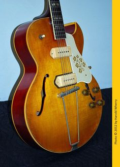 1950's Gibson ES295 Archtop Hollowbody Electric Guitar