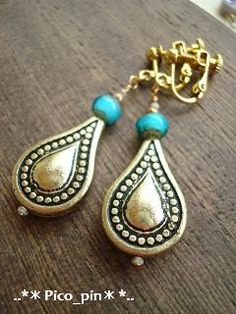 Teardrop Ethnic Earrings