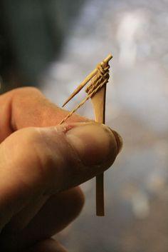 Making a thorn fishing hook- jonsbushcraft.com