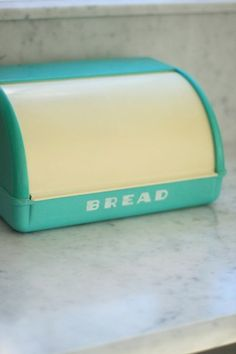 Turquoise Bread Box 664 Best Bread Boxes Images On Pinterest  Bread Boxes Midcentury