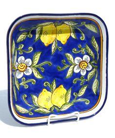 Love this Citronique Square Serving Bowl by Le Souk Ceramique on #zulily! #zulilyfinds