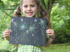 Cool project from http://www.kiwicrate.com/projects/Fireworks-Drawing/2312: Fireworks Drawing