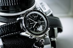 Omega Speedmaster by H.Y. Photography, via Flickr
