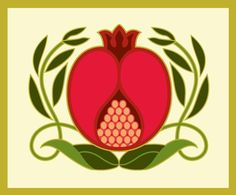 pomegranate.  But lots of possibilities with other fruit for stitchery.