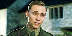 When he looked beautiful in uniform in War Horse. | 29 Times Tom Hiddleston Was Your Perfect Boyfriend