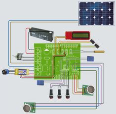 A robotic lawn mowers powered by Solar Energy with an Arduino heart #energysaving