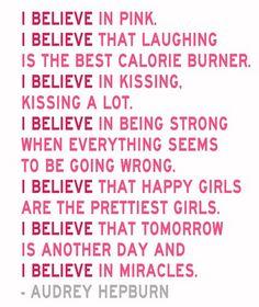 Inspiring words from am intelligent woman.