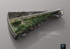 Amazing Earth Hour ads remind us of the importance of conservation