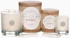 A few of my favorites!  Candles from Thrift Décor Chick