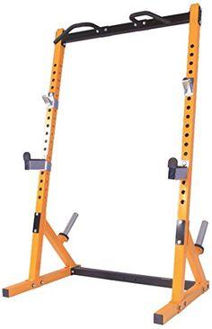 Powertec Fitness Workbench Half Rack, Yellow  reviews  in 2015 | Pegaztrot Buyer Friend