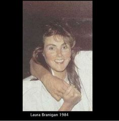 Laura Branigan, 1984. She is 32 at the time.