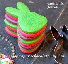 COMO AGUA PARA CHOCOLATE: GALLETAS DE PASCUA. Chocolates, Easter Cookies, Happy Easter, Cake, Desserts, Food, Sweets, Like Water For Chocolate, No Bake Cookies