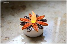 Weiteres - Quilling Herbst LED Teelichter Orgi - ein Designerstück von Liebeabiesquilling bei DaWanda