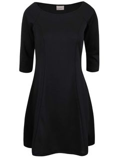 7775f4795d2 Černé šaty s 3 4 rukávy Vero Moda Kari Vero Moda