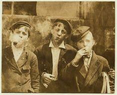 O impacto dessas imagens do fotógrafo Lewis Hine foi importante na mudança das leis de trabalho infantil nos E.U.A.