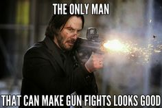 Am I the only one who thinks gun fights in other movies looks like *pew pew pew pew - 9GAG