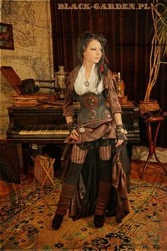 Steampunk style from black-garden.pl