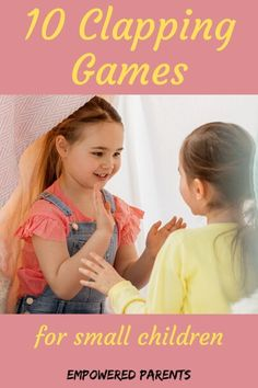 These hand-clapping games for kids in preschool and kindergarten are fun and educational. Start with easier songs and games and move to the challenging games as your child's coordination improves. games for kids Hand Games For Kids, Kids Games For Girls, Games To Play With Kids, Online Games For Kids, Games For Toddlers, Play Online, Educational Activities For Preschoolers, Preschool Games, Music Activities