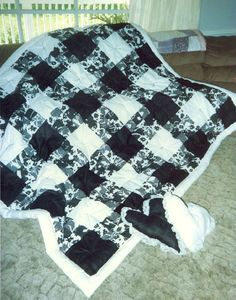 Black and white quilt #2   Which one to try?