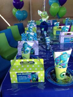 Monkey Magic Monster Inc Party | #ThemeParty #Kids