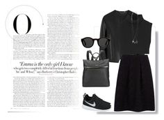 """""""Out in black"""" by freewingsoul ❤ liked on Polyvore"""