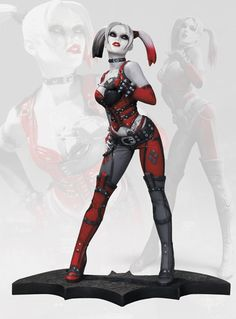 Pre order this one early, it is going to be a HOT one...Batman Arkham City Harley Quinn statue pre-order