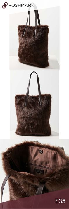 NWT UO Jumbo Faux Fur Tote Bag Last one! Make an offer! No lowballs please Urban Outfitters Bags Totes