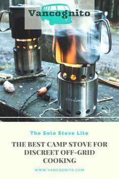 The Best Ultralight Wood Burning Stealth Camping Stove Wood Burning Camp Stove, Stove Board, Best Camping Stove, Stealth Camping, Living On The Road, Bus Life, Van Living, Ultralight Backpacking, Vw Camper