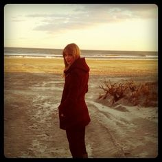 Nothing quite like a freezing cold, wintery beach. - @taylorswift- #webstagram