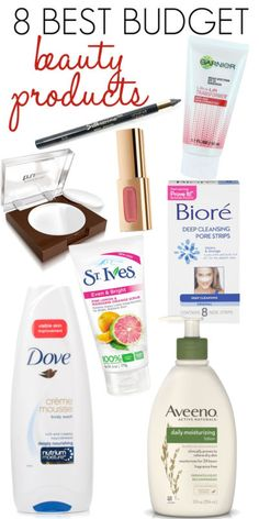 8 Best Budget Beauty Products