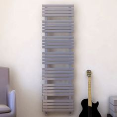 Reina Sienna Stainless Steel Radiator - Stainless Steel  Bathroom Radiators - Better Bathrooms