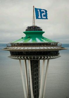 Seattle...Seahawk country!