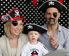 The Buente Family: Family Photo Booth Fun