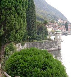 Vista sul lago da Villa Monastero a Varenna (Lecco) http://lefotodiluisella.blogspot.it/2015/02/villa-monastero-il-giardino.html