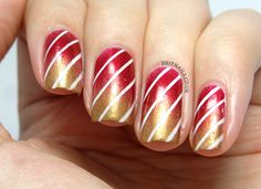 Brit Nails: Merry Christmas!