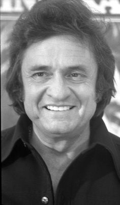 Johnny Cash in Frankfurt, West Germany, in 1977. James Arwine/ Star and Stripes